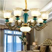 春風十里吊燈 新型古典燈飾 新型布藝燈