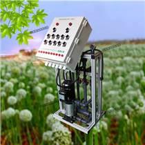農田灌溉水肥機廠家 大田作物微噴滴灌半自動施肥機操作