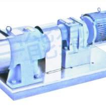 上海寧能上下進出口型不銹鋼型轉子泵
