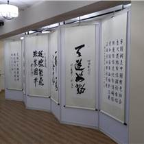 上海金山区画展布展,挂画展板展架租赁安装