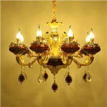 客廳吊燈 水晶吊燈 鋅合金吊燈