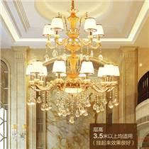 客廳吊燈 天津水晶吊燈批發 吊燈價格