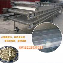 日产5吨水饺速冻隧道 饺子速冻隧道生产线