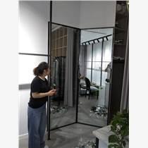 安裝玻璃鏡子制作白鋼維修門窗