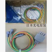 日本光电监护仪原装导联线三导联线(扣式)订货号BR-