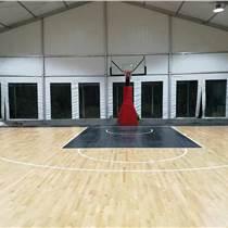 歐氏提供籃球羽毛球壁球專用運動木地板廠家