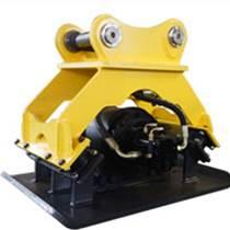 液壓振動夯板 高頻液壓平板夯配件 高速液壓夯實機型號