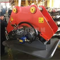 挖掘機液壓夯實器高頻振動夯實機液壓高頻平板夯