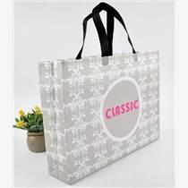 無紡布折疊袋 覆膜服裝手提袋 折疊購物袋 環保手提袋