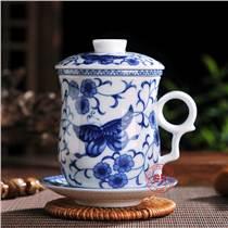 年会礼品陶瓷茶杯定做