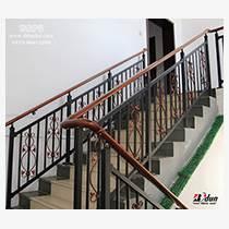 鋅鋼樓梯扶手別墅小區室外家庭樓梯