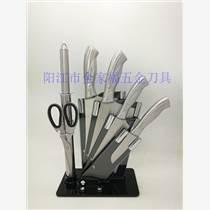 廚房套裝不銹鋼七件套菜刀禮品套刀 廠家批發