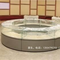 深圳弧形博物館展柜訂做廠家
