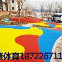 幼兒園地面施工單位、幼兒園地板鋪設、幼兒園彩色操場圖