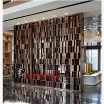 佛山鑠旺不銹鋼屏風生產廠家 定做各種彩色不銹鋼屏風裝