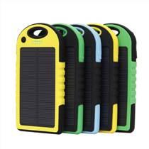 外貿防水太陽能手機充電器移動電源批發