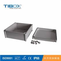 TIBOX热销户外防水ABS PC配电原料接线盒塑料