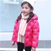 童装批发市场儿童羽绒服厂家一手货源