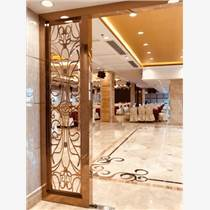 廠家直銷酒店不銹鋼隔斷激光屏風   鏤空雕花不銹鋼花