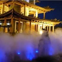 别墅小区假山雕塑喷泉瀑布武汉人造雾公司
