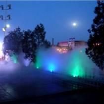 高檔居民小區廣場綠地噴霧降溫設備價格人造霧景觀造霧機