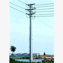 武威市輸電鋼桿 鋼管桿 鋼管塔 轉角鋼桿