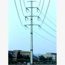玉溪市26米110kv电力钢管杆 输电钢管 免费设计