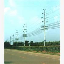 16米输电钢杆 直线钢杆  打桩施工