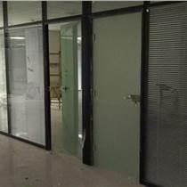 聚美隔墻廠家推薦雙玻百葉隔斷    辦公室 玻璃隔斷