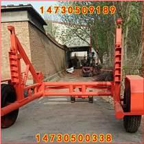 揭阳12吨定制多轮胎版大承重力放线拖车价格