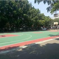 廣西塑膠球場-柳州林溪小區丙烯酸籃球場竣工