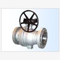 廣騰球閥 Q347H渦輪固定球閥價格