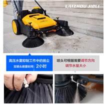 手推式无动力工厂环卫小区扫地机道路清扫车
