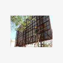 江蘇大型廣告牌拆除回收高空廣告牌中央空調回收水冷機組