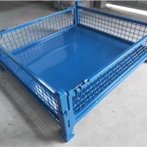 周轉箱倉儲籠 鐵皮鐵框物流箱 物料箱 工具鐵筐箱周轉