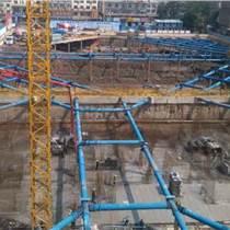 宏信钢板桩钢围檩基坑钢支撑结构