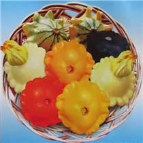 黄红白绿四色玩具南瓜种子 飞碟瓜种子