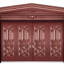 定制仿銅門 鋅合金家用門 庭院進戶門 天津別墅大門