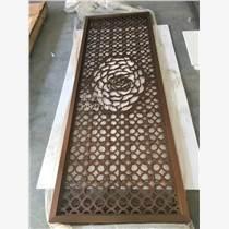 拉丝仿红古铜不锈钢焊接屏风供应厂家