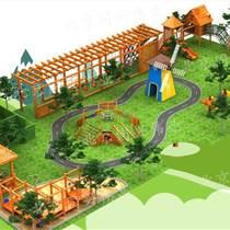 木制拓展訓練、樹屋滑梯、攀爬架