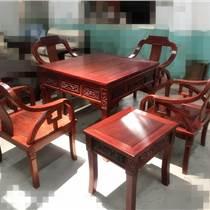 非洲紅花梨麻將桌