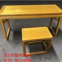可定制简约现代琴台 红木家具