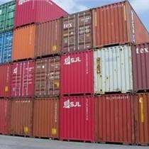 貴港到上海海運門到門運輸集裝箱