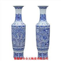 乔迁新居礼品大花瓶 清明上河图陶瓷花瓶