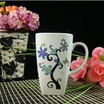 高檔禮品杯子-骨質瓷早餐杯-馬克杯定制-陶瓷茶杯-會