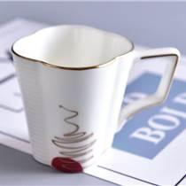 唐山骨瓷馬克杯-陶瓷杯定做-辦公杯-會議蓋杯-歐式咖