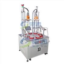 供應電磁閥多軸在線自動擰螺絲機自動定位提高標準化生產