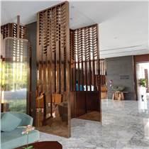 定制客廳雕花鏤空不銹鋼屏風隔斷