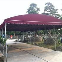 ?#26412;?#25240;叠雨棚厂家推拉雨篷车棚价格实惠大排档移动推拉篷