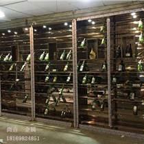 定制家裝酒柜不銹鋼酒架生產廠家